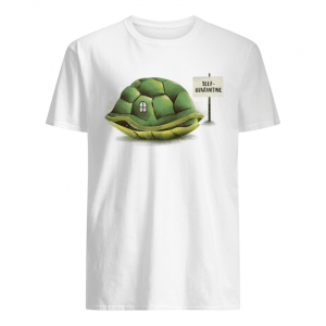 Stay Home Green Turtle Shirt Classic Men's T-shirt