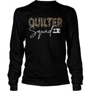 Black quilter squad  Long Sleeve