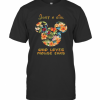 Just A Girl Who Loves Mouse Ears T-Shirt Classic Men's T-shirt