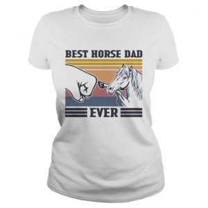 Best House Dad Ever Vintage  Classic Ladies