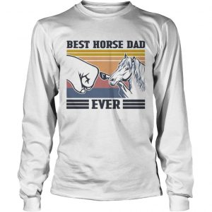 Best House Dad Ever Vintage  Long Sleeve