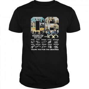 06 years of 2014 2020 the 100 thank for the memories signatures  Classic Men's T-shirt