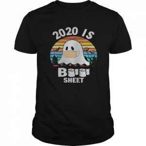 2020 is boo sheet  Ghost and bats Funny Halloween  Classic Men's T-shirt