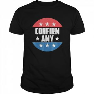 Amy Coney For SCOTUS 2020 Amy Barrett Fill That Seat  Classic Men's T-shirt