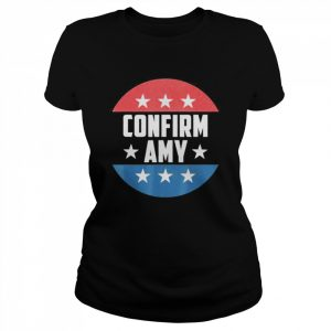 Amy Coney For SCOTUS 2020 Amy Barrett Fill That Seat  Classic Women's T-shirt