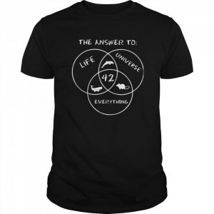 The Answer To Life Universe Everything  Classic Men's T-shirt