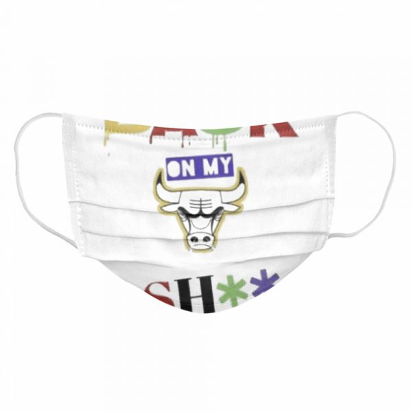 Chicago bulls back on my shit  Cloth Face Mask