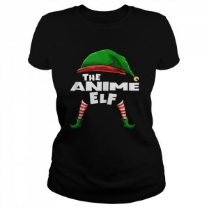 The Anime Elf Family Christmas Group Matching  Classic Women's T-shirt