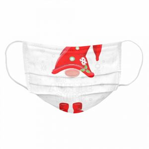 The Auntie Gnome Christmas  Cloth Face Mask
