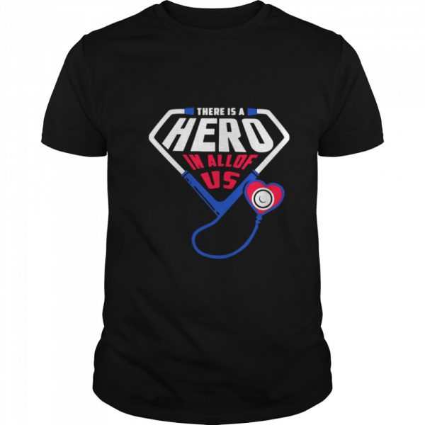 There Is A Hero In All Of Us  Classic Men's T-shirt