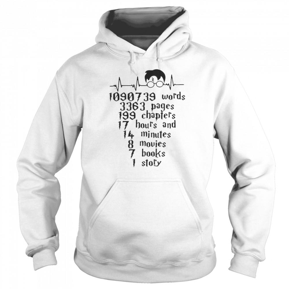 Words Pages Chapters Hours And Minutes Movies Books Story  Unisex Hoodie