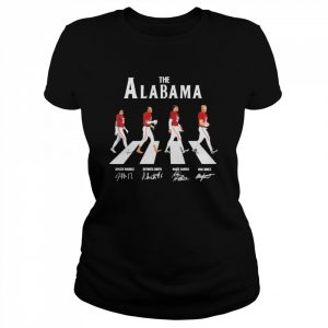 The Alabama Abbey road signatures 2021  Classic Women's T-shirt
